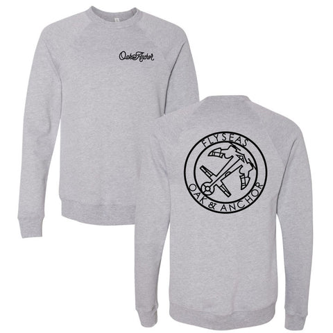 The FLYSEAS Crewneck Grey