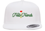 Hello Friends Caddy White Hat