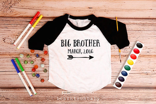 Big Brother Arrow Announcement Shirt
