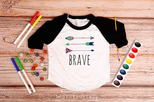 Brave Leader Shirt With Three Arrows