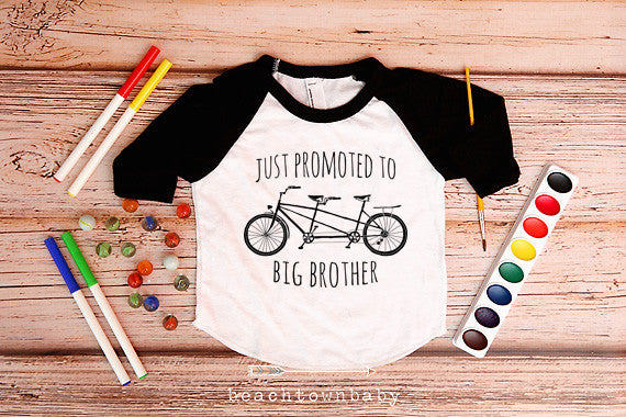 Promoted to Big Brother Bicycle Shirt