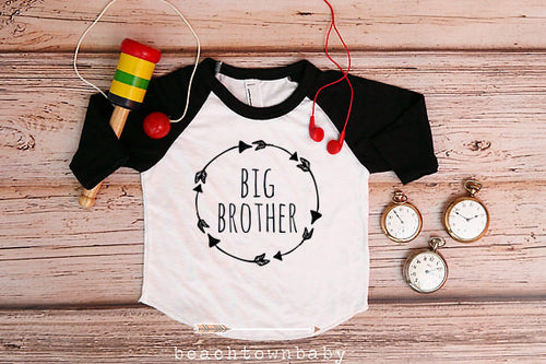 Big Brother Arrow Wreath Shirt
