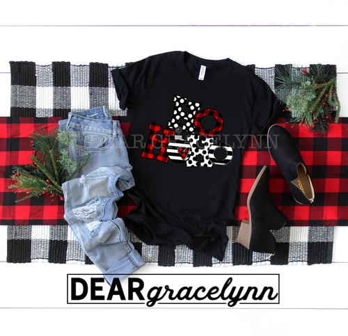 Ho Ho Ho Buffalo Plaid