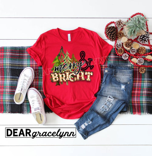 Merry & Bright Tree Tee
