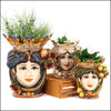 MOORISH HEADS CALTAGIRONE