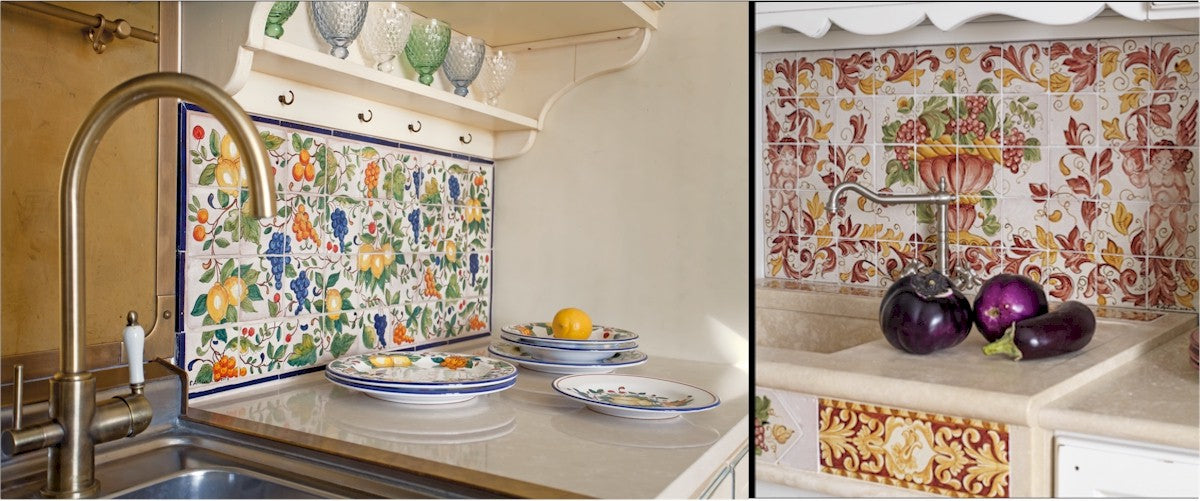 Deruta Tiles Backsplash