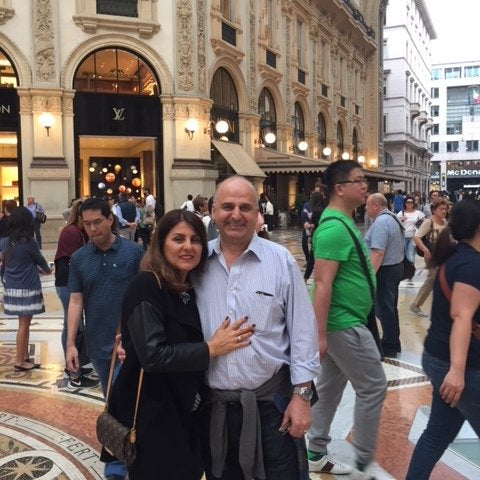 Alice and Marco visit Milan for culture, shopping and inspiration, here at Milan's Galleria.