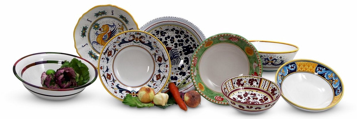 Deruta Serving  Bowls