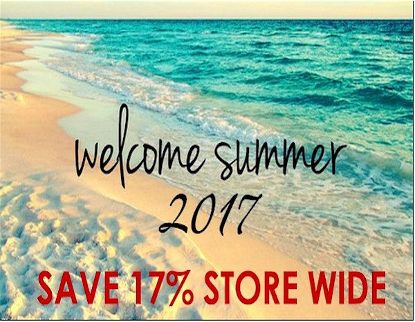 WELCOME SUMMER SALE!