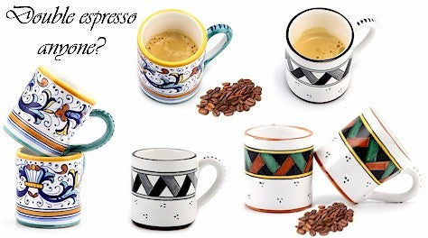 Espresso Coffee Mugs 5 Oz.