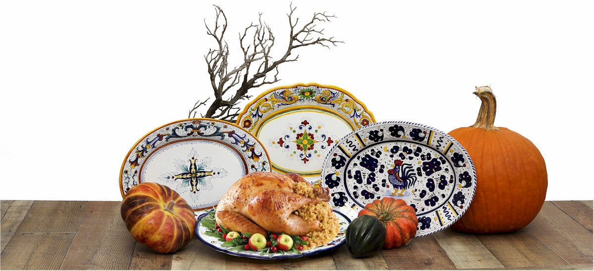 Deruta Turkey Platters