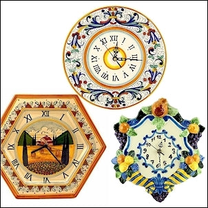 deruta wall clocks