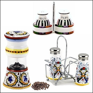 salt pepper grinder mill shaker deruta