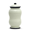 BIANCO MARINA: Double Belly Canister Large