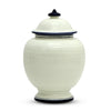 BIANCO MARINA: Round Canister Traditional Jar