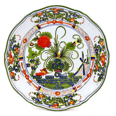 FAENZA: Scalloped dinner plate (11 D)