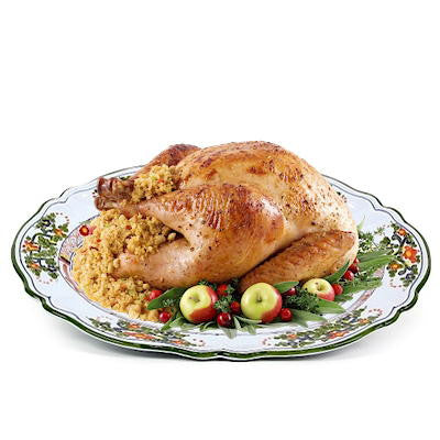 FAENZA: Oval Turkey Platter