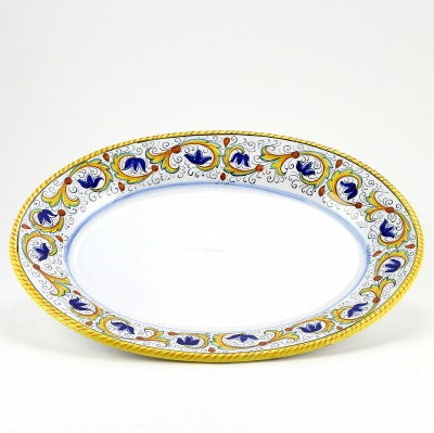 PERUGINO: Large Oval Turkey Platter