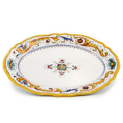 RAFFAELLESCO: Large Oval platter