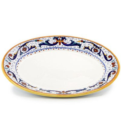 RICCO DERUTA: Large Oval Turkey Platter