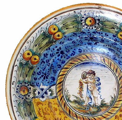 MAJOLICA: Wall Plate (14D)