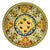 MAJOLICA MEDICI: Wall Plate with DeMedici Five Balls (16D)
