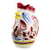 ORVIETO ROSSO: Rooster of Fortune Pitcher (1 Liter 34 Oz 1 Qt)