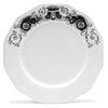DERUTA BIANCO/NERO: Five pieces place setting set