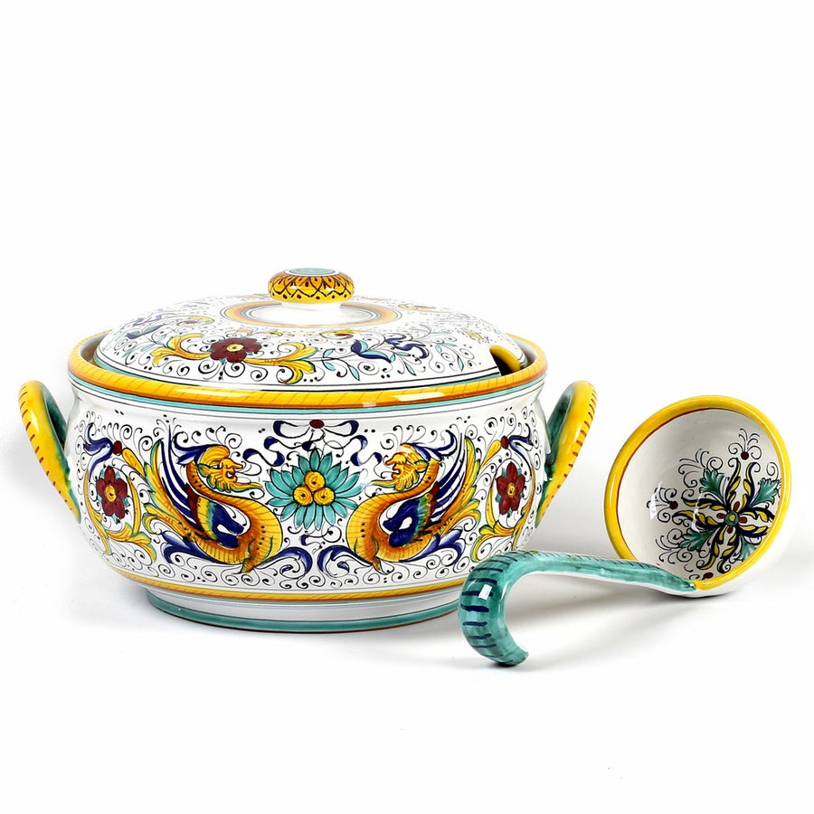RAFFAELLESCO DELUXE: Soup Tureen with Ladle