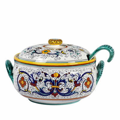 RICCO DERUTA DELUXE: Soup Tureen with Ladle