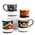 DERUTA MUGS: Set of FOUR Mugs as shown (019-RNT.TIZ.SPO.POM)