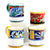 DERUTA MUGS: Set of FOUR Mugs as shown (019-ROY.TIZ.CEL.EXC)