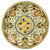 MAJOLICA MEDICI: Wall Plate with DeMedici Five Balls (28D)