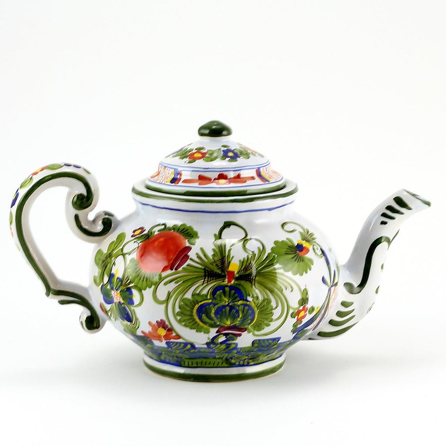 FAENZA-CARNATION: Tea Pot