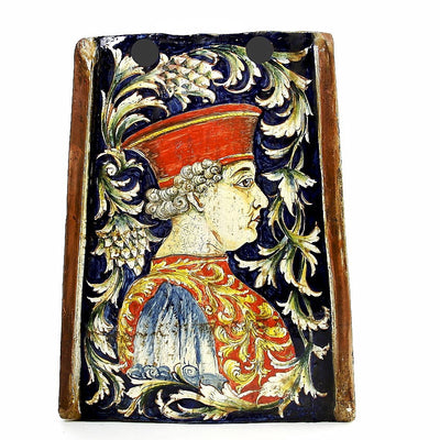 MAJOLICA: Reclaimed Tuscan Roof Tile with Cosimo de Medici profile
