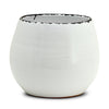 SCAVO GIARDINI-GARDEN: Round Shaped Cachepot/Planter Large WHITE