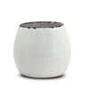 SCAVO GIARDINI-GARDEN: Round Shaped Cachepot/Planter Small WHITE