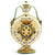 MAJOLICA MEDICI: Flat Rounded Bottle with DeMedici Five Ball Crest