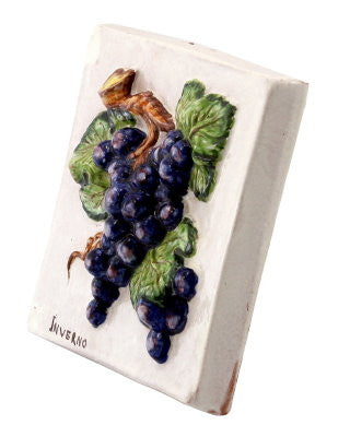 ROBBIANA: Fruit square wall tiles Four Seasons fruits