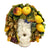 ROBBIANA MASK OF PROSPERITY: Ceramic Mask 'The Harvest' ~ DeLuxe Edition ~ Fully hand made  (Large)