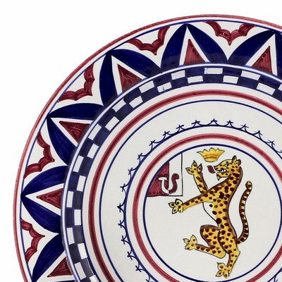 PALIO DI SIENA: PANTERA (Panther) Charger (also hung as a wall plate)