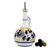 ORVIETO BLUE: Olive Oil Bottle Deluxe