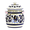 ORVIETO BLUE: Traditional Biscotti Jar