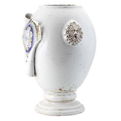 SURPRISE: Large Jar Vase Deruta Vario Antique White