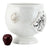 SURPRISE: Cachepot Planter Deruta Vario Nero Antique White (Large)