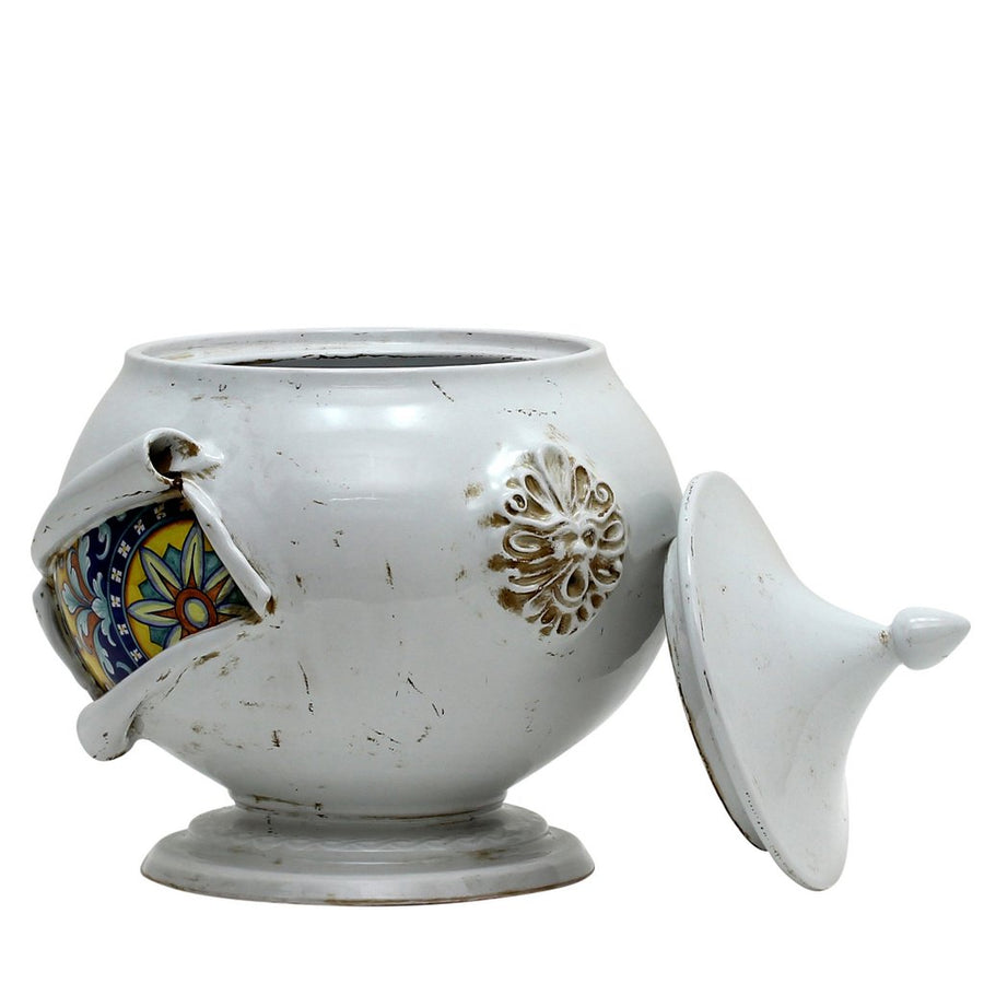 SURPRISE: Tureen Centerpiece Deruta Vario Antique White