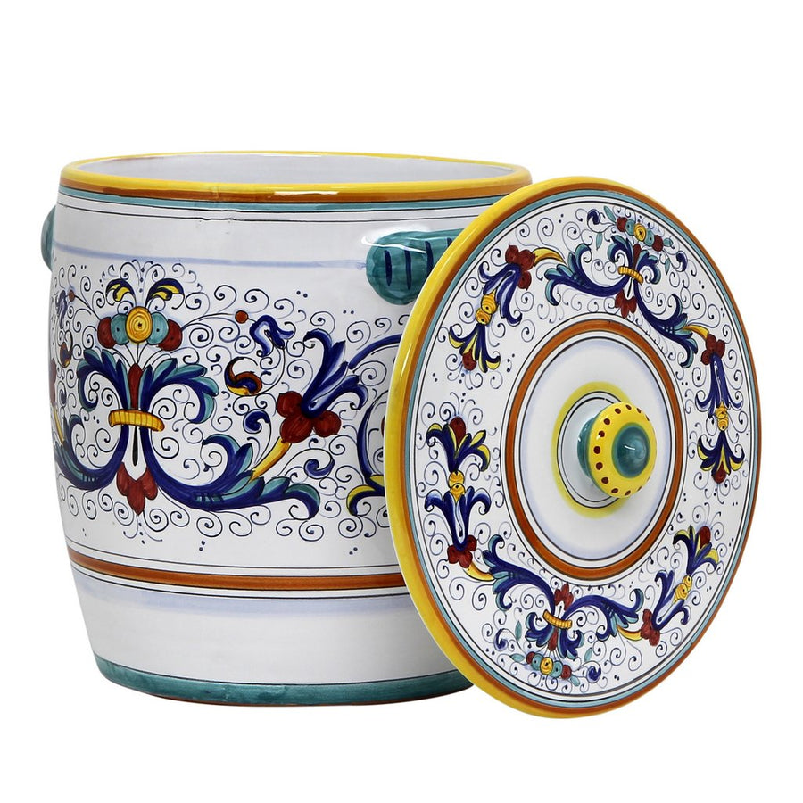 RICCO DERUTA: Flour Pot with lid.