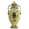 MAJOLICA TOSCANA: Grottesche Design DeLuxe Anphorae with Crest Designs