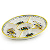 RAFFAELLESCO: Oval Compartment Server Tray Raffaello