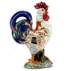 ROOSTER OF FORTUNE: Alberto large ceramic Rooster of Fortune
